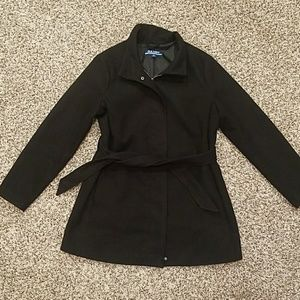 Old Navy Maternity Black Peacoat